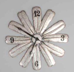 Feather Windmill Clock